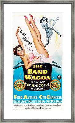 The Band Wagon, Cyd Charisse, Fred Framed Print