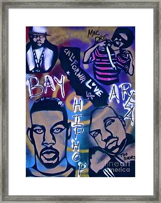 The Bay Area Framed Print by Tony B Conscious