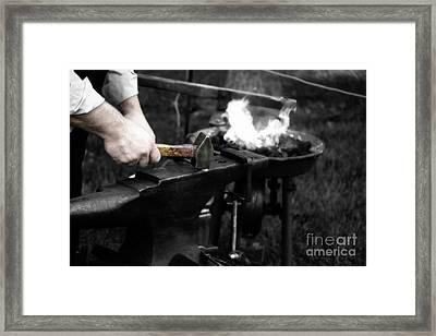 The Blacksmith  Framed Print by Steven Digman