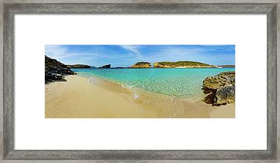 The Blue Lagoon Framed Print by Wladimir Bulgar
