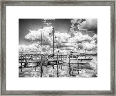 The Boat Framed Print by Howard Salmon
