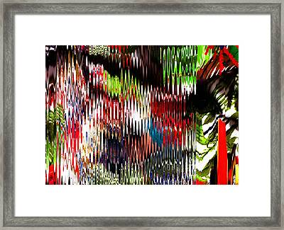 The Bold And The Beautiful Framed Print by Anne-elizabeth Whiteway