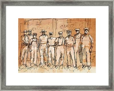 The Boys Framed Print by H James Hoff