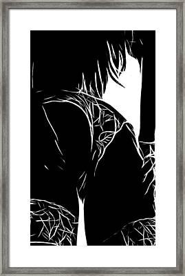 The Butt Framed Print by Steve K