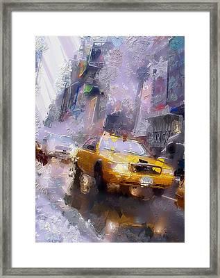 The Cab Framed Print by Steve K