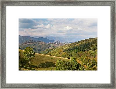 The Carpathian Mountains, Cerna Valley Framed Print