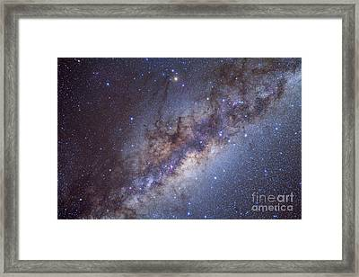 The Center Of The Milky Way Framed Print by Alan Dyer