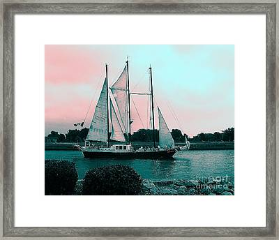 The Challenge Framed Print