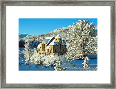The Chapel On The Rock II Framed Print by Eric Glaser