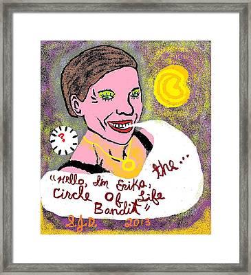 The Circle Of Life Bandit Framed Print by Joe Dillon