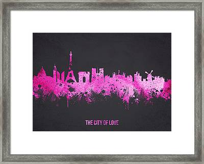 The City Of Love Framed Print