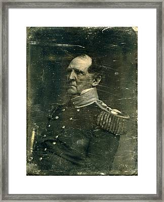 The Civil War. General Winfield Scott Framed Print