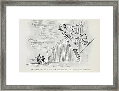 The Club Of Queer Trades Framed Print