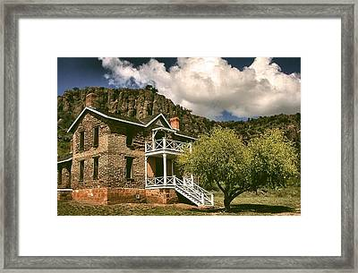 The Commandants Quarters Framed Print by Lynne and Don Wright