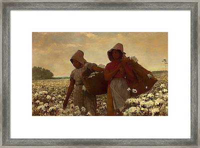 The Cotton Pickers Framed Print by Mountain Dreams