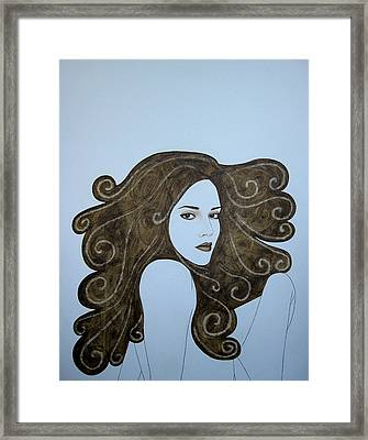 The Crush Framed Print