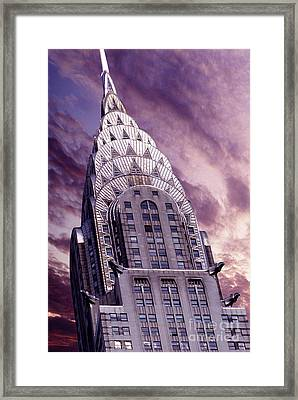 The Crysler Building Framed Print by Jon Neidert