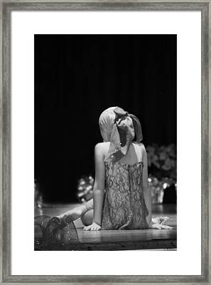 The Dancer Framed Print by Susan Bordelon