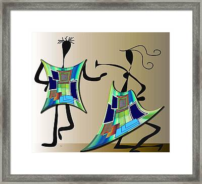 The Dancers Framed Print