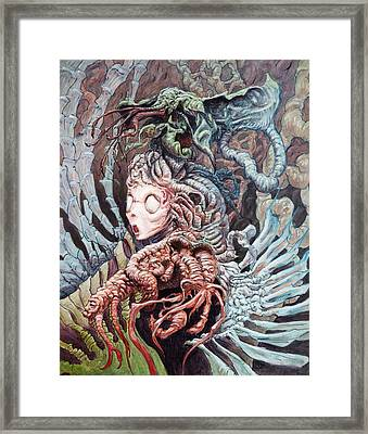 The Drinking Girl  Framed Print