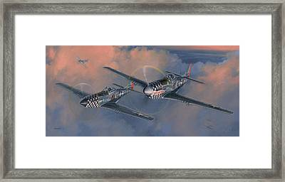 The Duxford Boys Framed Print by Wade Meyers