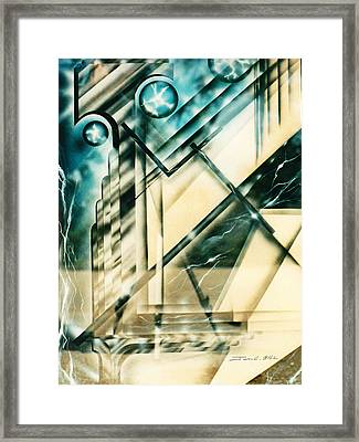The Eighties Framed Print by James Christopher Hill