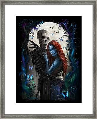 'the Embrace' V2 Framed Print by Alex Ruiz