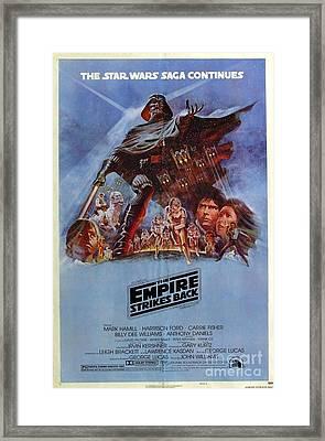 The Empire Strikes Back Framed Print