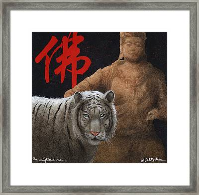 The Enlightened One Framed Print by Will Bullas