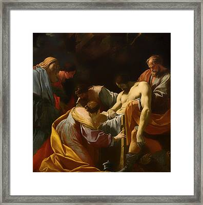 The Entombment Framed Print by Mountain Dreams