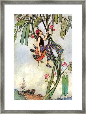 The Fairy Book Framed Print by Warwick Goble