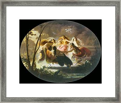 The Fairy Dance Framed Print by Robert Alexander Hillingford