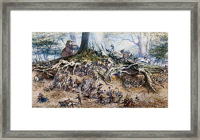 The Fairy Tree Framed Print by Richard Doyle