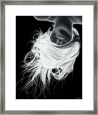 The Fall Framed Print by Kalie Hoodhood