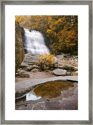 The Falls Framed Print by Ryan Heffron