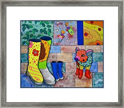 The Family Framed Print by Raela K