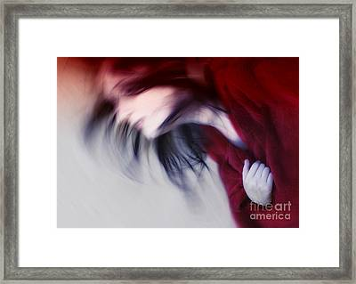 The Fast Lane Framed Print by Angelika Drake