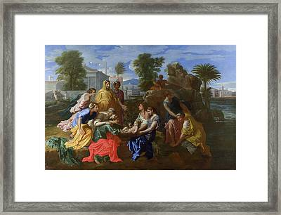 The Finding Of Moses Framed Print