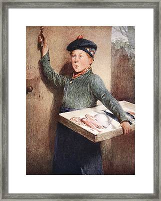 The Fishmongers Call Framed Print
