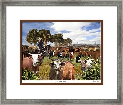 The Florida Prairie Framed Print
