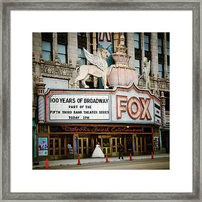 The Fox Theatre Framed Print