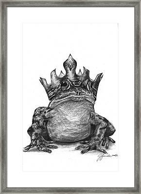 The Frog Prince Framed Print