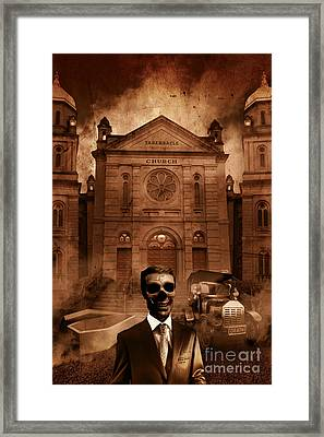 The Funeral Director Framed Print by Jorgo Photography - Wall Art Gallery