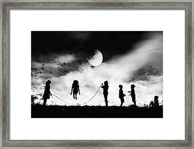 The Game High Jump Framed Print