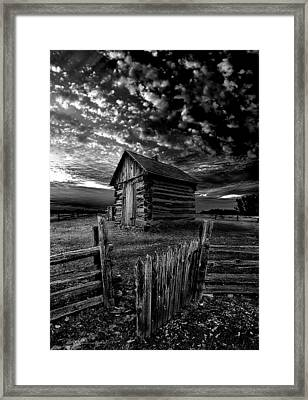The Gate Framed Print