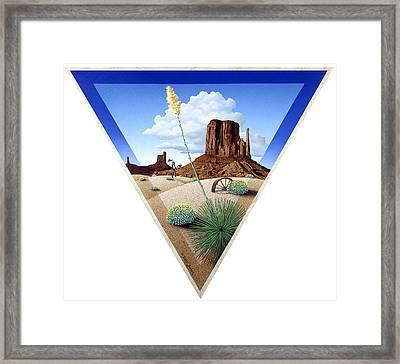 The Gay Caballero Framed Print