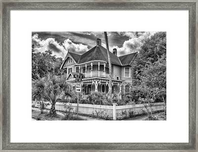 The Gingerbread House Framed Print by Howard Salmon