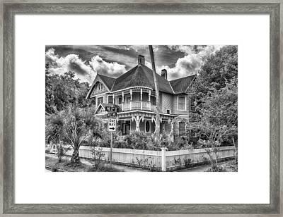 The Gingerbread House Framed Print