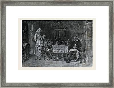 The Good Motive, French, Salon Of Beaux Arts, 1880, 19th Framed Print by Hadamard, Auguste (1823 ? 1886), French