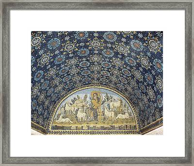 The Good Shepherd. 5th C. Italy Framed Print